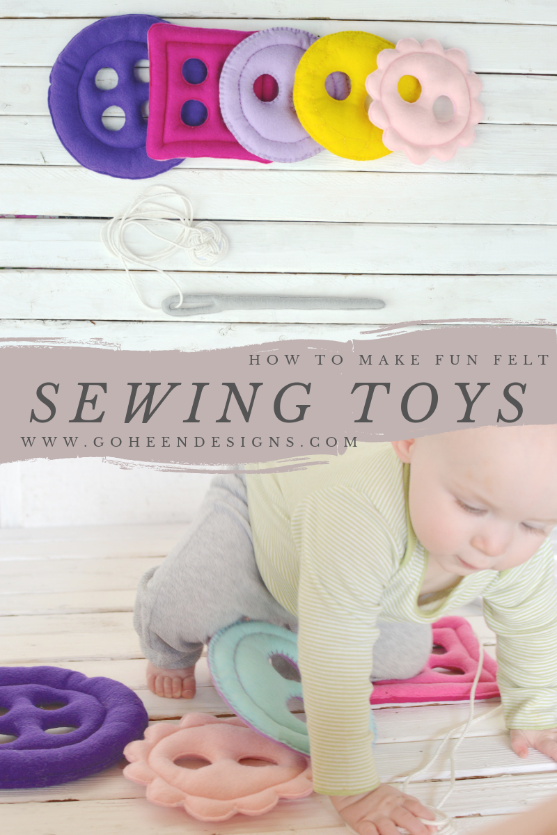 DIY felt sewing toys tutorial and free pattern