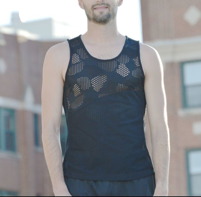 men's sewing pattern singlet