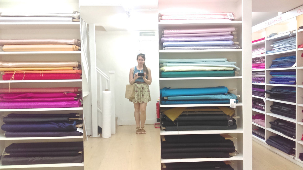 Goheen fabric shopping in London