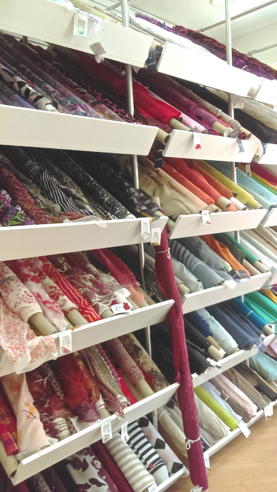 London fabric shops