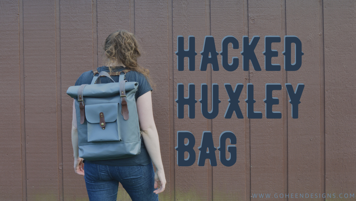 hacked huxley bag sewing pattern