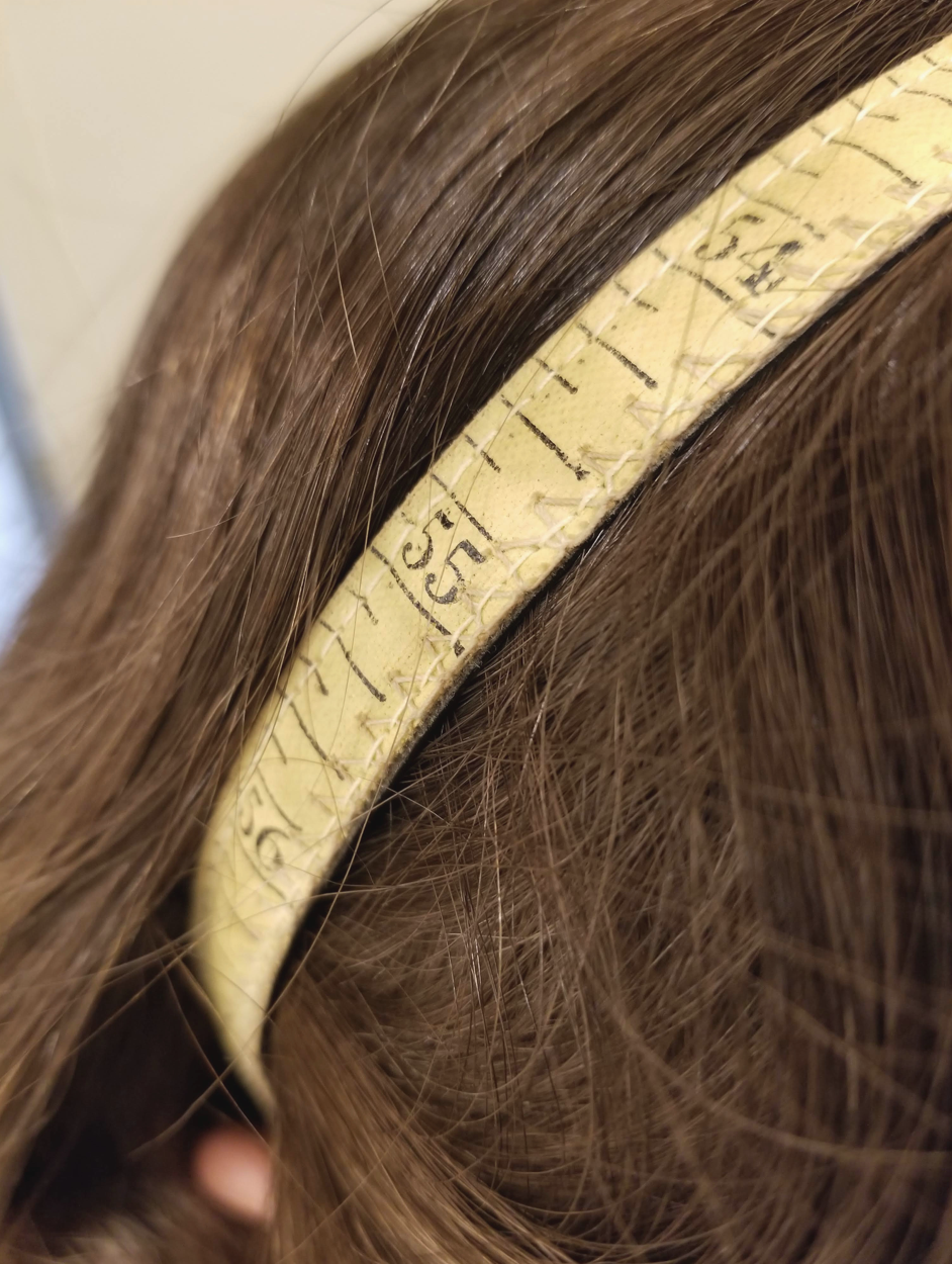 sewist measuring tape headband diy