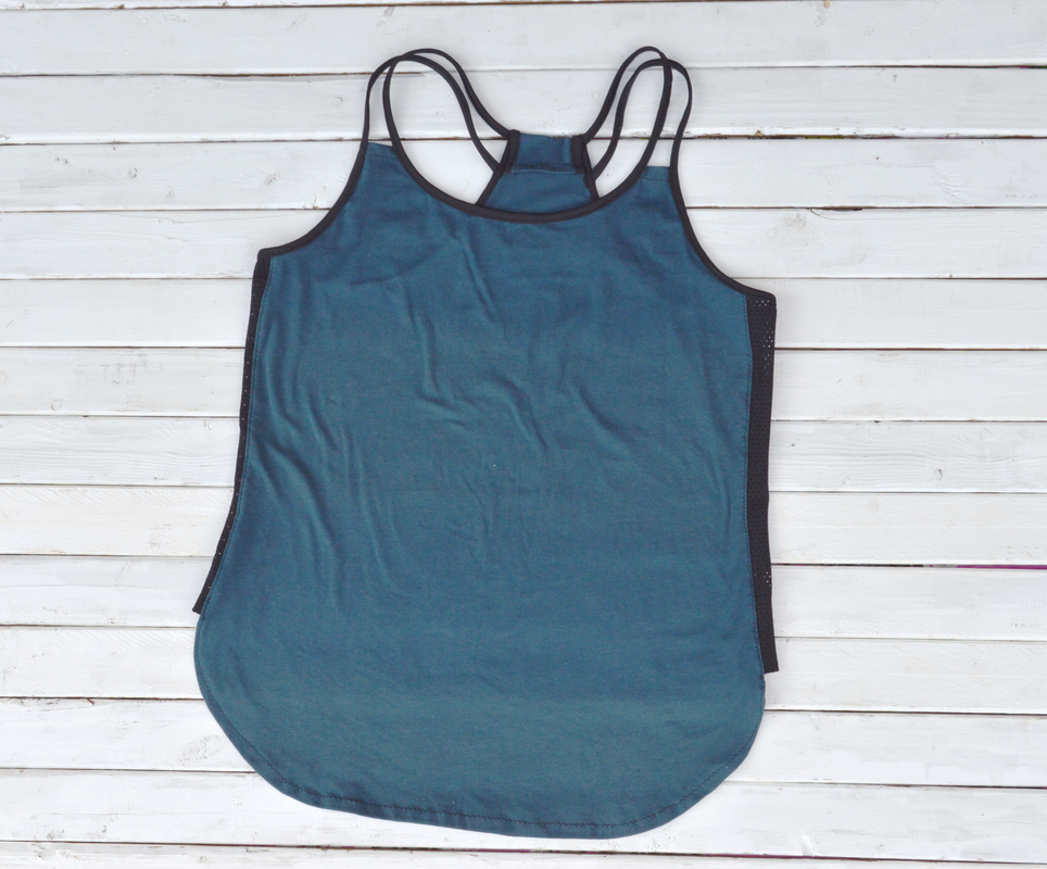 strappy tank top handmade