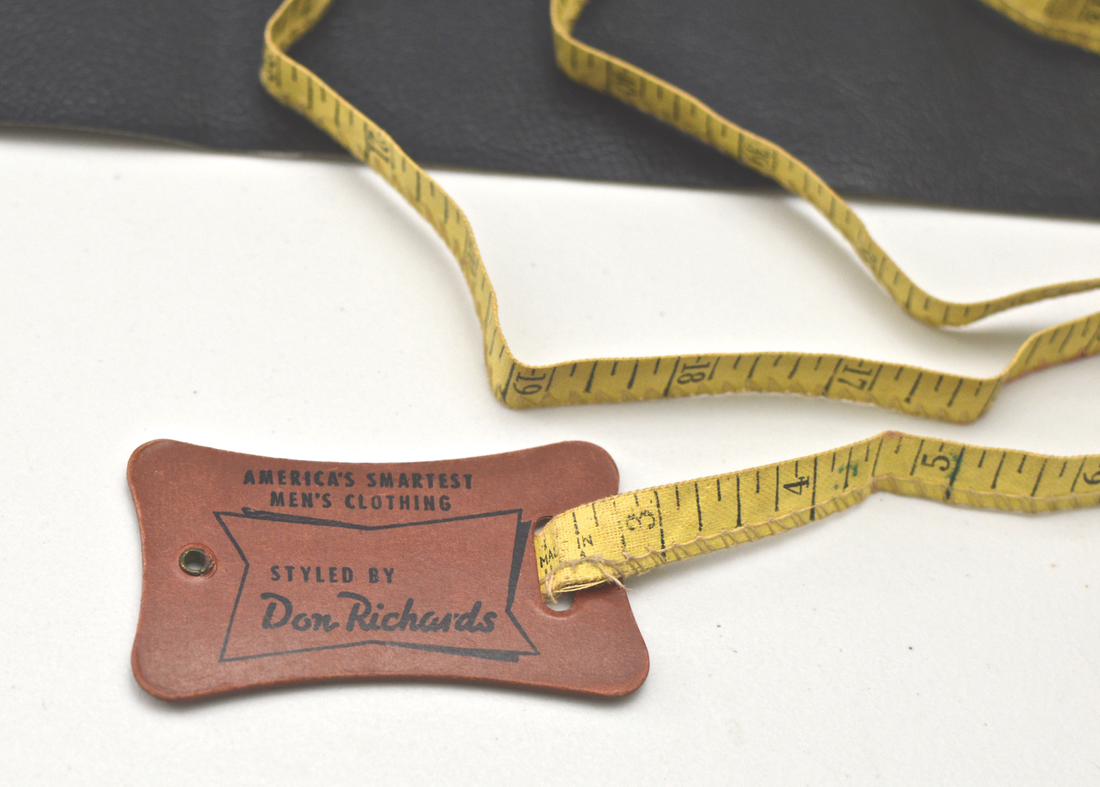 vintage measuring tape don richards